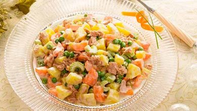Photo of Salada de Batata Doce e Atum