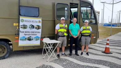 Photo of Beira-mar Tramandaí conta com base móvel comunitária da Brigada Militar