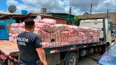 Photo of Operação apreende alimentos obtidos ilegalmente em Cachoeirinha