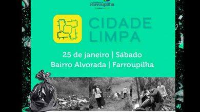Photo of Farroupilha realiza mutirão de limpeza neste sábado