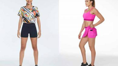 Photo of La Clofit apresenta opções de shorts, saias e bodies