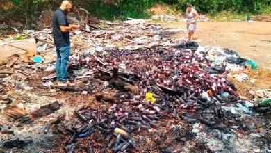 Photo of Lixo irregular localizado no bairro São José, em São Leopoldo