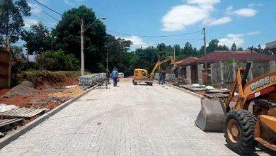 Photo of Ruas de Lomba Grande recebem obras de infraestrutura