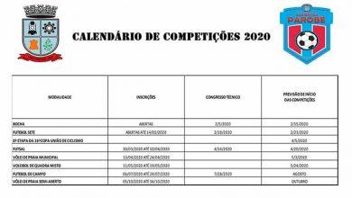 Photo of Parobé divulga seu calendário de competições esportivas
