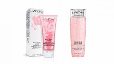 Photo of Lancôme lança Rose Sugar Scrub e Tonique Confort