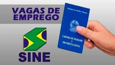 Photo of Sine de Flores da Cunha oferece 27 vagas de emprego