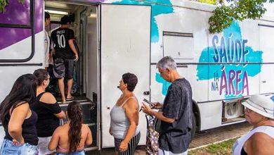 Photo of Saúde Tá na Área atende moradores do bairro Rio Branco, em Canoas