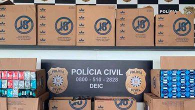 Photo of Polícia recupera carga de cigarros roubada em Alvorada
