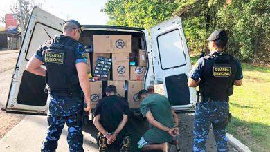 Photo of Guarda Municipal de Canoas com carga de cigarros roubada e veículo clonado