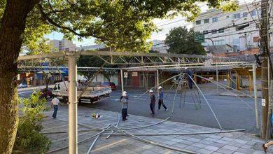Photo of Prefeitura de Caxias inicia montagem de estruturas em frente às UPAs