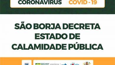 Photo of As determinações da calamidade pública em São Borja
