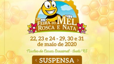 Photo of Feira do Mel, Rosca e Nata de Ivoti é cancelada