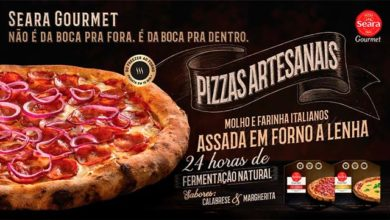 Photo of Seara lança linha premium da Pizza Gourmet