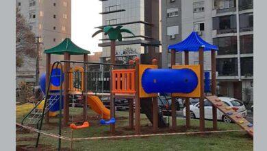 Photo of Passo Fundo: Campo Fredolino ganha novo playground