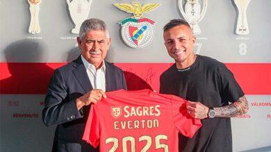 Photo of Everton assina contrato com o Sport Lisboa e Benfica até 2025