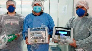 Foto de Hospital de Campanha de Cachoeirinha recebe novos respiradores