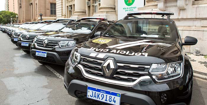 Polícia Civil RS recebe primeiras viaturas semiblindadas — Revista News